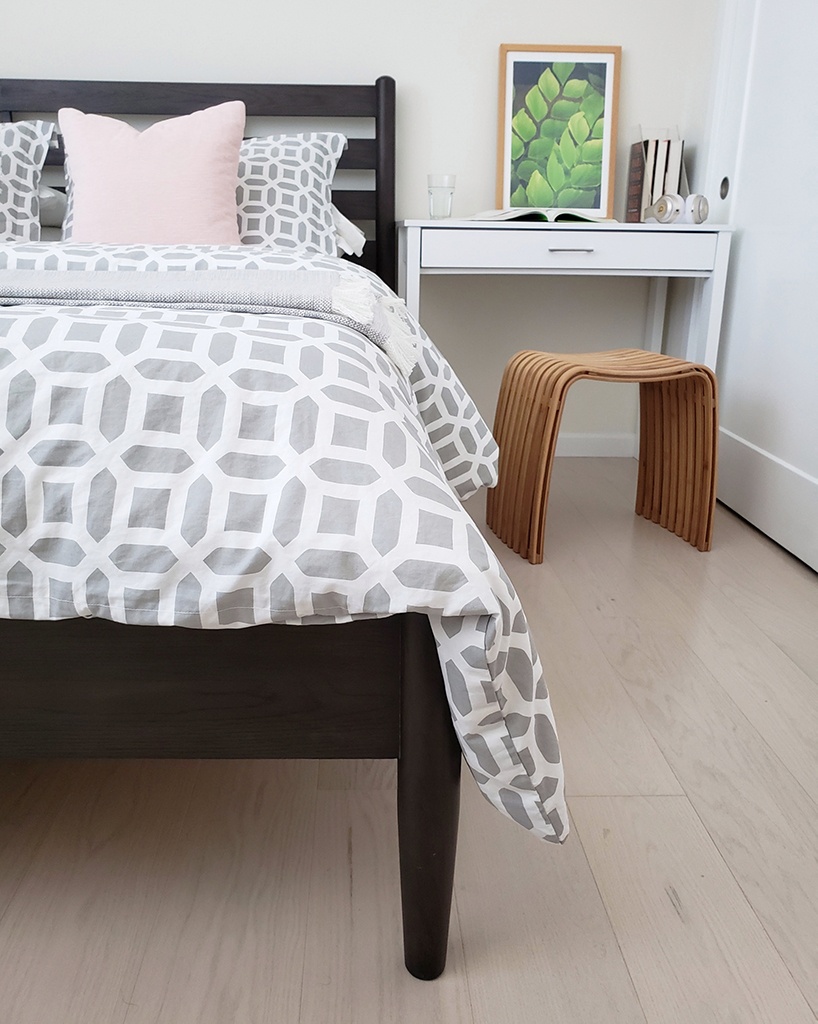 Before & After: Scandinavian Inspired Guest Bedroom