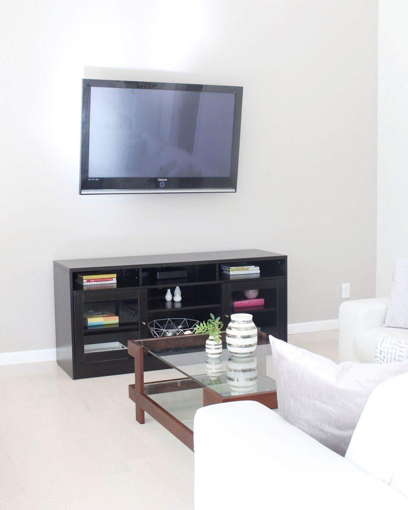Modern Family Room Renovation & Design