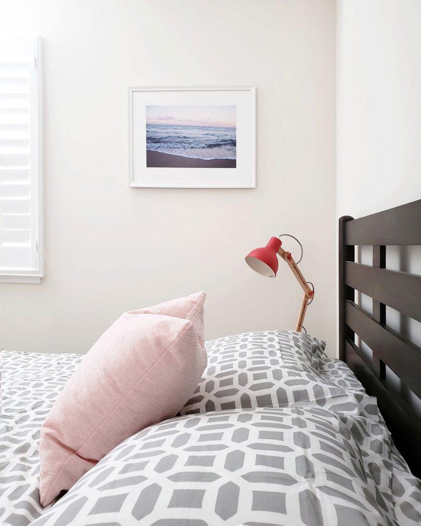 Scandinavian Inspired Guest Bedroom
